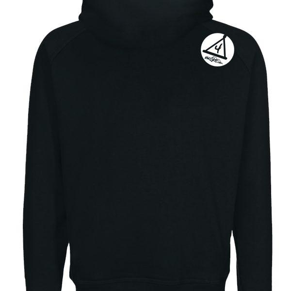 w4ke hoodie back
