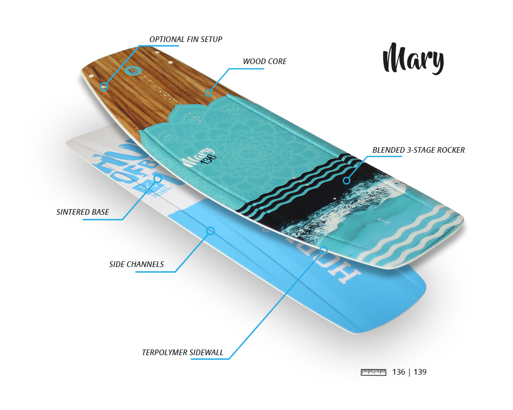 mary - Hobl Wakeboards 2018