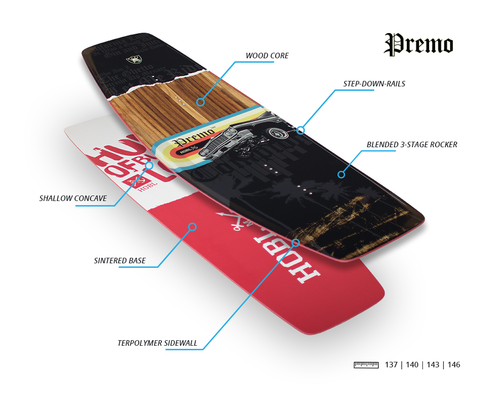 premo - Hobl Wakeboards 2018