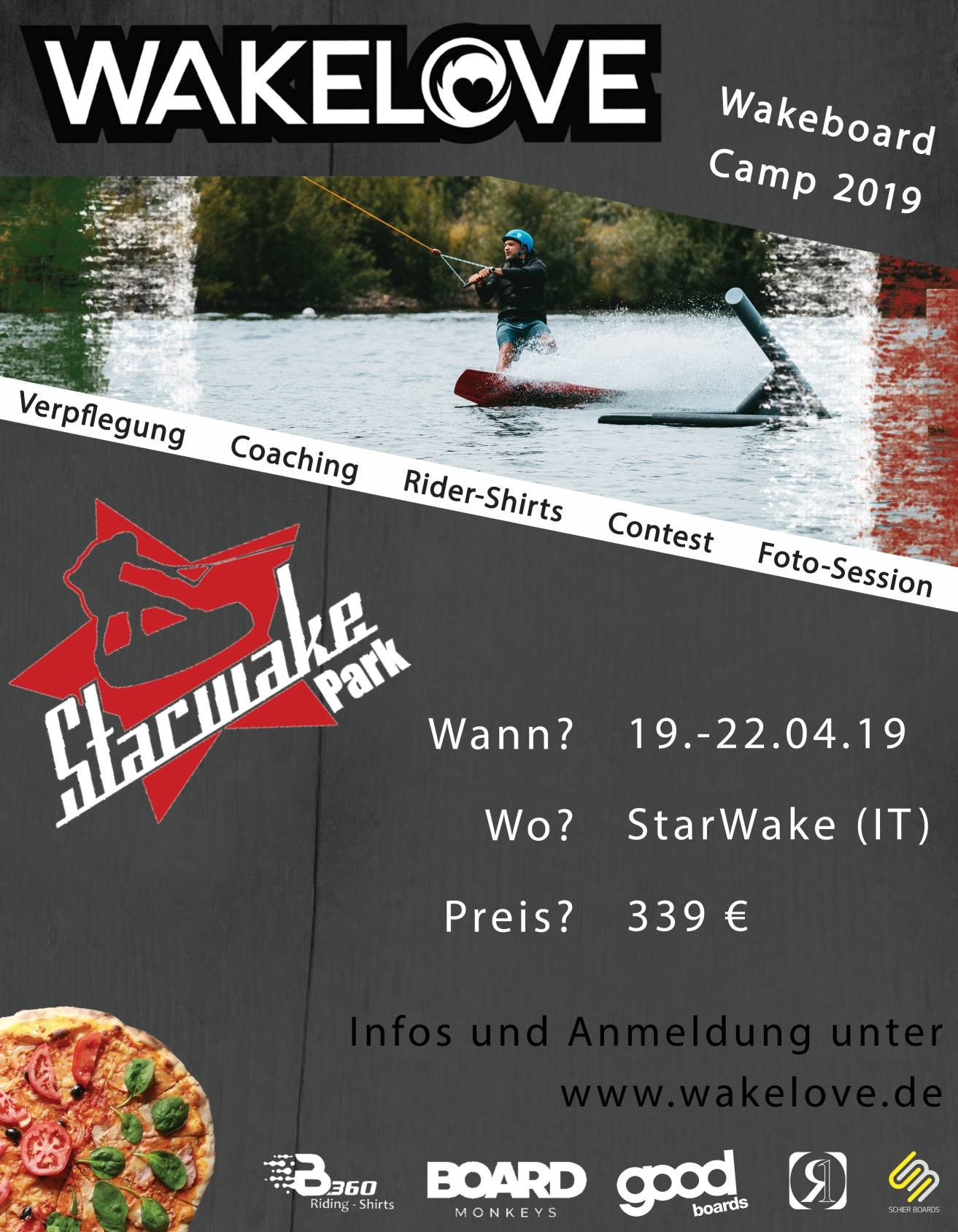 Wakelove - Camp in Italien