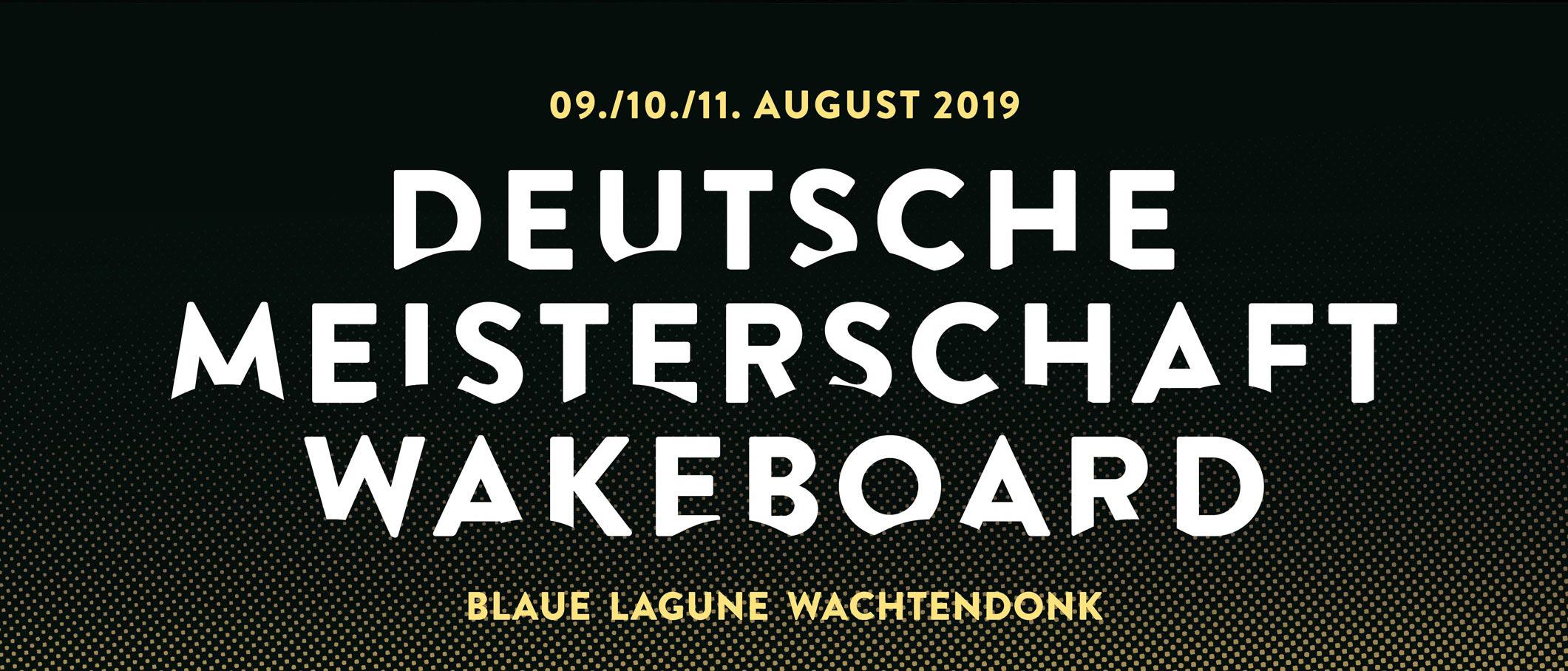 Deutsche Wakeboard Meisterschaft 2019
